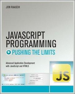 JavaScript Programming (eBook, ePUB) - Raasch, Jon