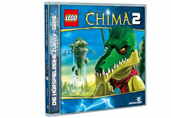 LEGO - Legends of Chima Bd. 2 1 Audio-CD