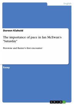 The importance of pace in Ian McEwan's