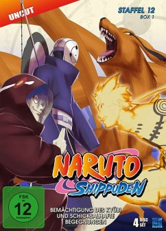 Naruto Shippuden, Staffel 12 - Teil 1 DVD-Box