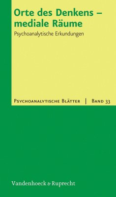 Orte des Denkens - mediale Räume (eBook, PDF)