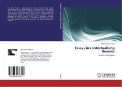 Essays in contextualising theories - Fusari, Massimiliano