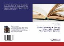 Thermodynamics of Human Serum Albumin with Thymoquinone Complex