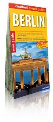 Comfort! map & guide Berlin, französische Ausgabe