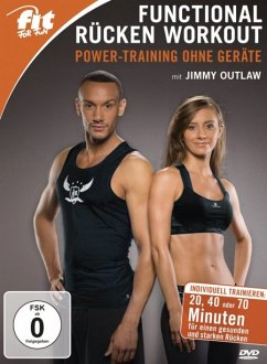 Fit for Fun - Functional Fitness mit Jimmy Outlaw - Power-Training ohne Geräte - Outlaw,Jimmy/Daut,Vanessa