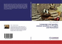 Language and gender-related variation in English and Romanian
