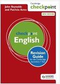 Cambridge Checkpoint English Revision Guide for the Cambridge Secondary 1 Test (eBook, ePUB)