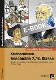 Stationenlernen Geschichte 7./8. Klasse (eBook, PDF)