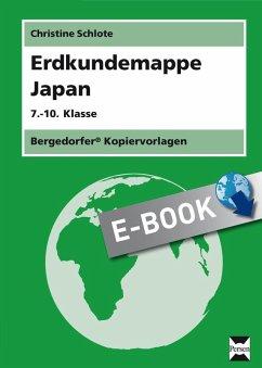 Erdkundemappe Japan (eBook, PDF) - Schlote, Christine