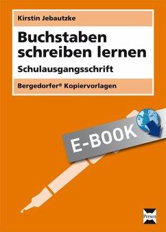 Buchstaben schreiben lernen - SAS (eBook, PDF)