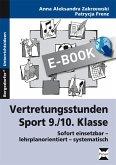 Vertretungsstunden Sport 9./10. Klasse (eBook, PDF)