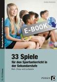 33 Sportspiele für die Sekundarstufe (eBook, PDF)