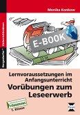 Vorübungen zum Leseerwerb (eBook, PDF)