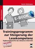 Trainingsprogramm Lesekompetenz - Ergänzungsband (eBook, PDF)