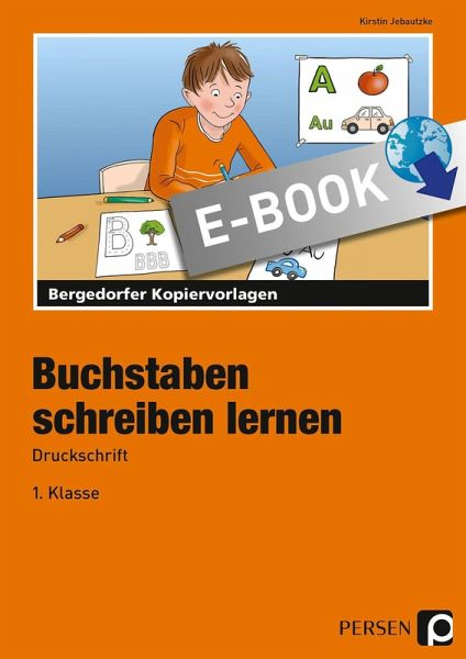 Buchstaben Schreiben Lernen Druckschrift Ebook Pdf Von Kirstin