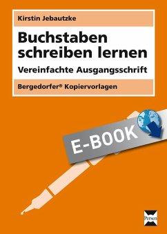 Buchstaben schreiben lernen - VA (eBook, PDF)