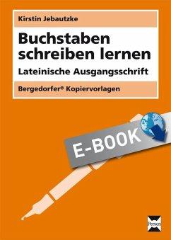 Buchstaben schreiben lernen - LA (eBook, PDF)