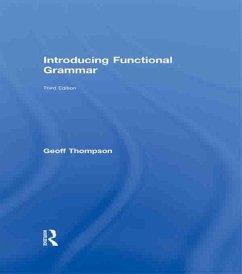 Introducing Functional Grammar (eBook, PDF) - Thompson, Geoff