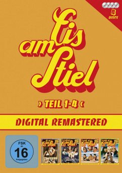 Eis am Stiel - Teil 1-4 DVD-Box