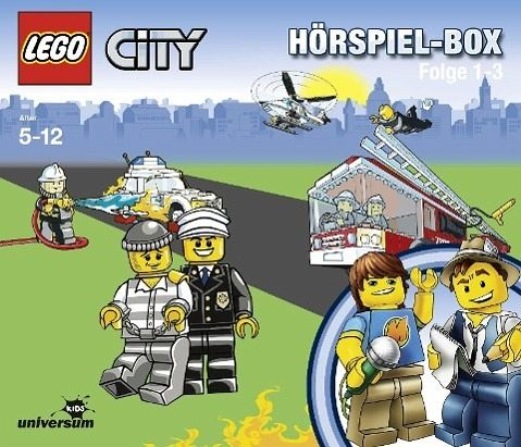 LEGO City Hörspiel-Box 3 Audio-CDs
