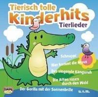 Tierisch tolle Kinderhits - Tierlieder, 1 Audio-CD - Kinderliederbande