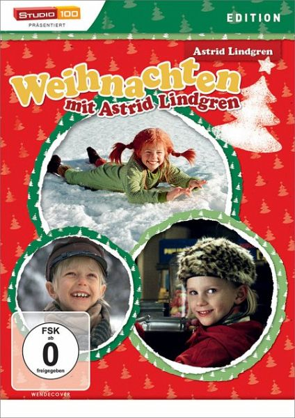 astrid lindgren weihnachten mit astrid lindgren auf dvd. Black Bedroom Furniture Sets. Home Design Ideas