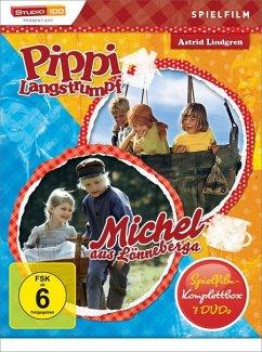 Astrid Lindgren: Pippi Langstrumpf / Michel aus Lönneberga - Spielfilm-Komplettbox (7 Discs)