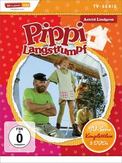 Pippi Langstrumpf - TV-Edition DVD-Box