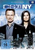 CSI: New York - Staffel 8 DVD-Box