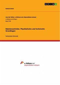 Raketenantriebe. Physikalische und technische Grundlagen (eBook, PDF)