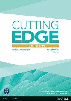 Cutting Edge 3rd Edition Pre-Intermediate Workbook with Key - Cosgrove, Anthony; Cunningham, Sarah; Moor, Peter