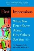 First Impressions (eBook, ePUB)