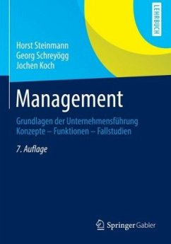 Management - Steinmann, Horst; Schreyögg, Georg; Koch, Jochen