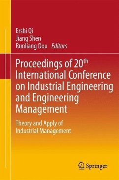 Proceedings of 20th International Conference on Industrial Engineering and Engineering Management