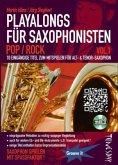 Playalong für Saxophonisten, m. Audio-CD