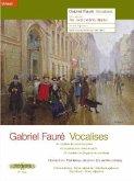 Vocalises, für Singstimme und Klavier