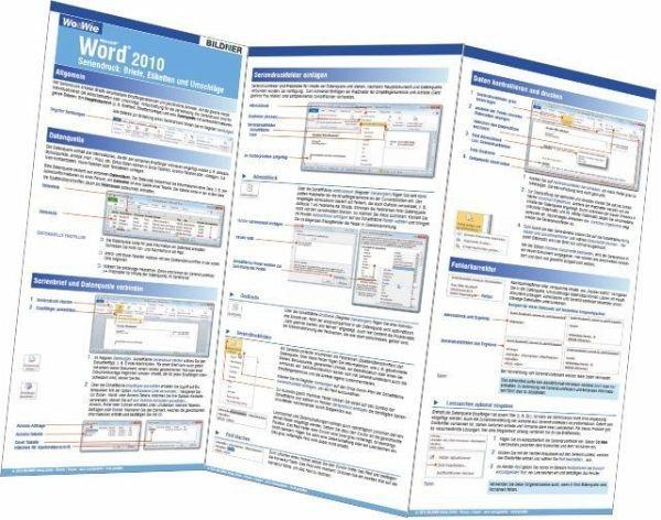 Briefe Und Sendungen Word 2010 : Wo wie word seriendruck referenzkarte buecher