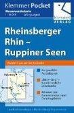 Klemmer Pocket Wasserwanderkarte Rheinsberger Rhin – Ruppiner Seen 1 : 50 000