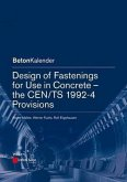 Design of Fastenings for Use in Concrete - the CEN/TS 1992-4 Provisions (eBook, ePUB)