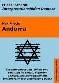 Andorra - Lektürehilfe und Interpretationshilfe: Interpretationen und Vorbereitungen für den Deutschunterricht (eBook, ePUB)
