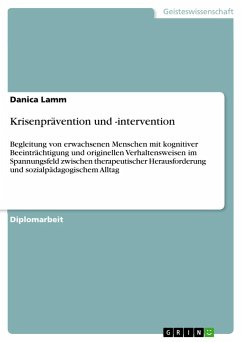 Krisenprävention und -intervention