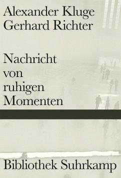 Nachricht von ruhigen Momenten (eBook, ePUB) - Kluge, Alexander; Richter, Gerhard