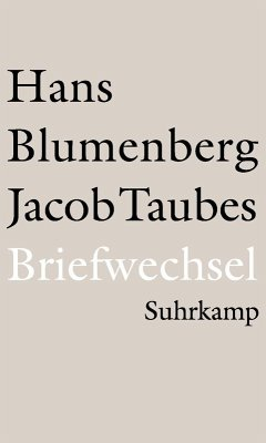 Briefwechsel 1961–1981 (eBook, ePUB) - Blumenberg, Hans; Taubes, Jacob