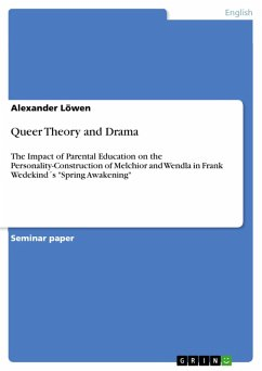 Queer Theory and Drama (eBook, PDF)