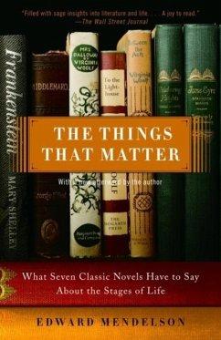 The Things That Matter (eBook, ePUB) - Mendelson, Edward