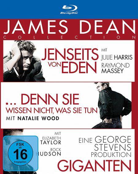 james dean collection 3 discs film auf blu ray disc. Black Bedroom Furniture Sets. Home Design Ideas