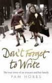 Don't Forget to Write (eBook, ePUB)