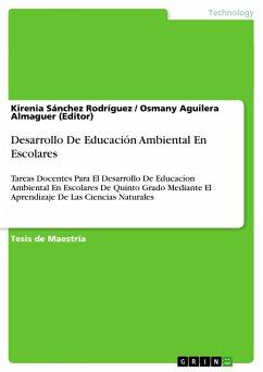 Desarrollo De Educación Ambiental En Escolares