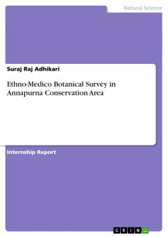 Ethno-Medico Botanical Survey in Annapurna Conservation Area