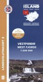 Island - Landshlutakort Vestfirdir (West Fjords)